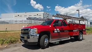 Design Roofing Truck