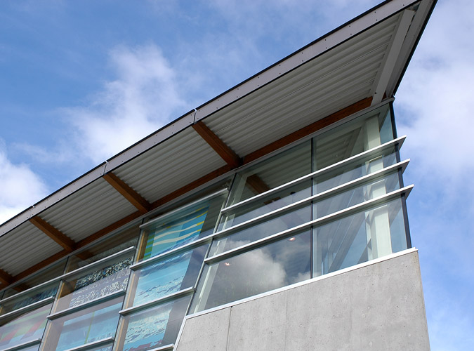West Vancouver Aquatic Center Detail
